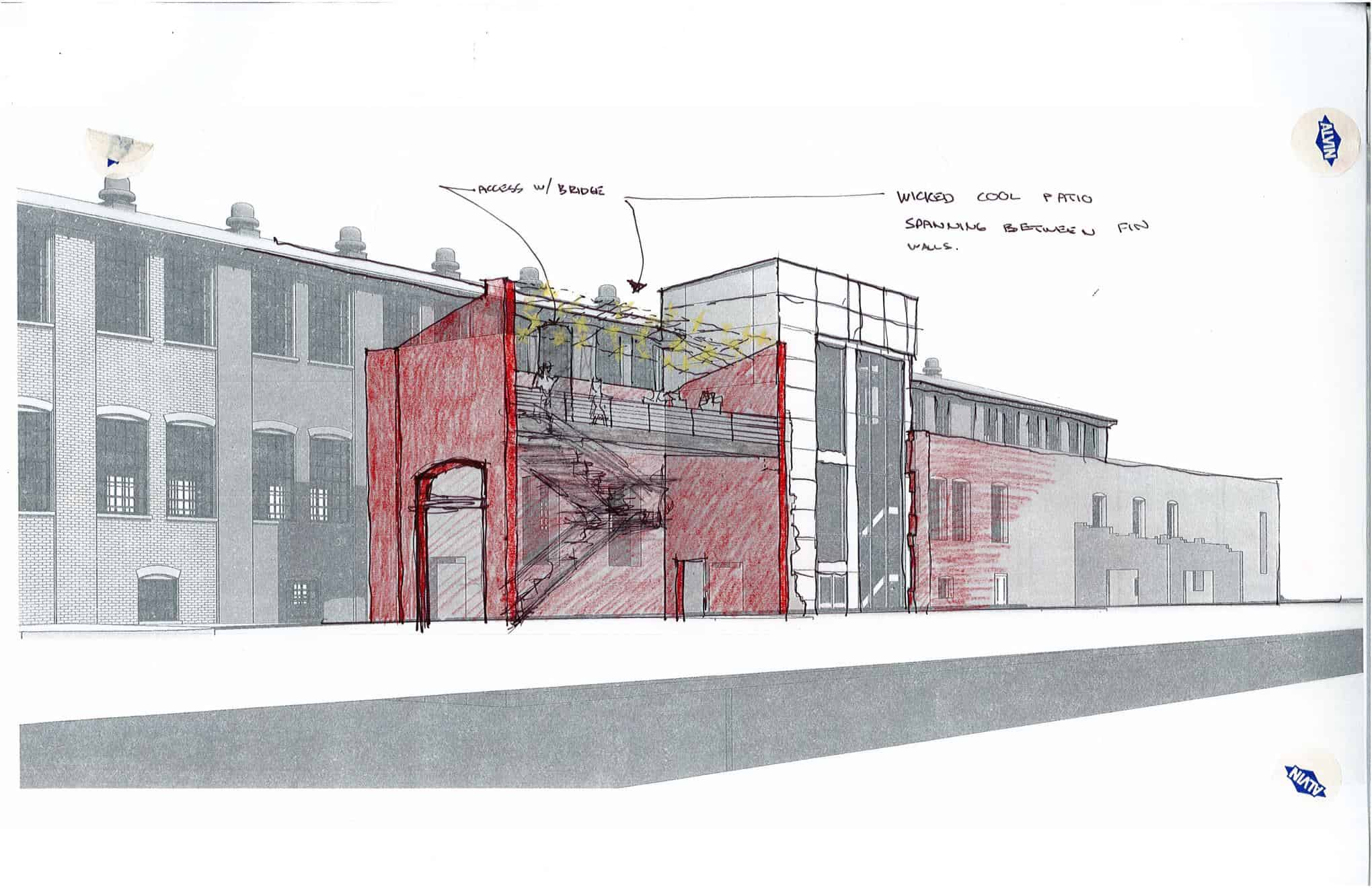 East Wing Wall Patio Sketch1 2016.12.14