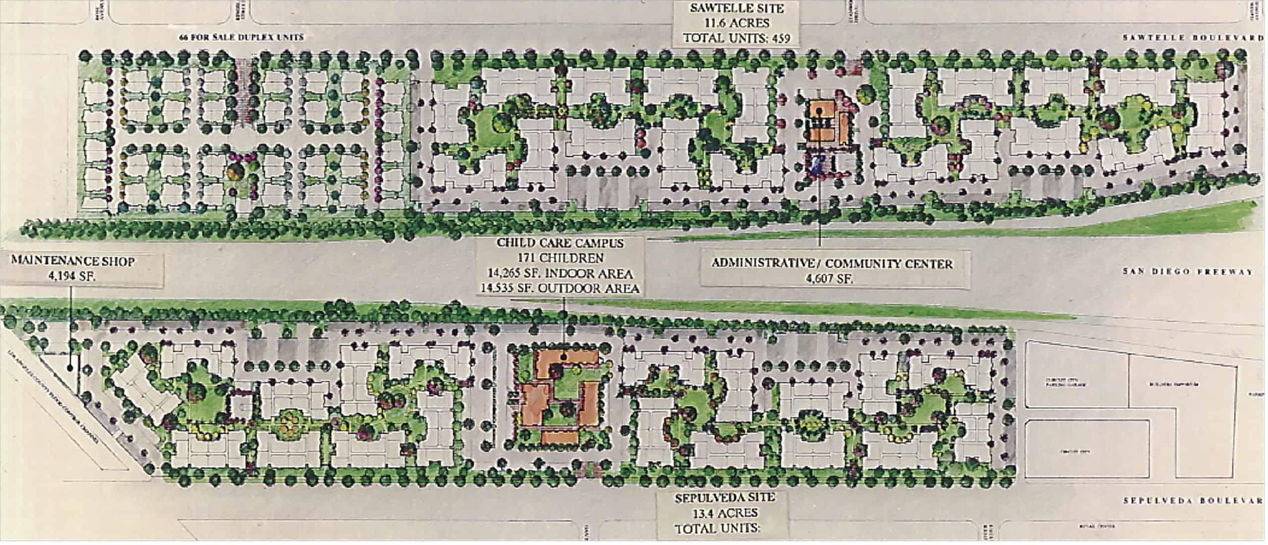 UCLA-university-village-Master-Plan